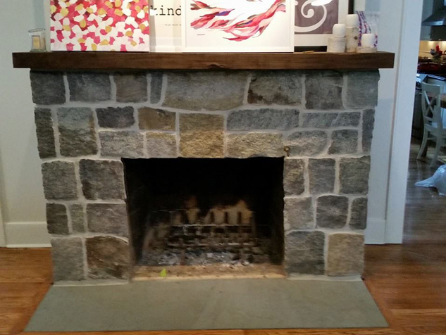 How To Repair Brick Fireplace Hearth Fireplaces