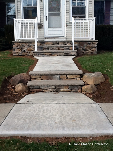 steps walkways porches masonry services westfield nj